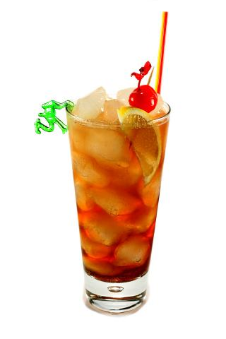 The Long Islans Iced Tea Cocktail (Коктейль Лонг Айланд Айсед Ти)