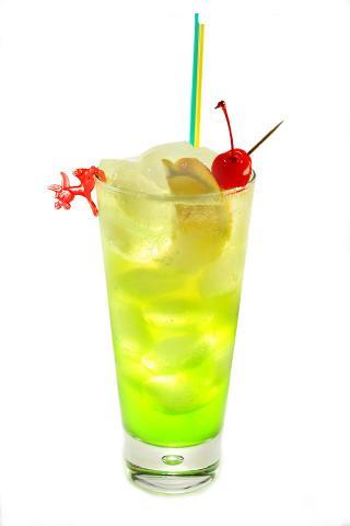 The Tokyo Iced Tea Cocktail (Коктейль Токио Айсед Ти)