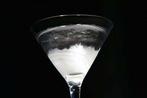 The Blueberry Martini (Коктейль Черничный Мартини)