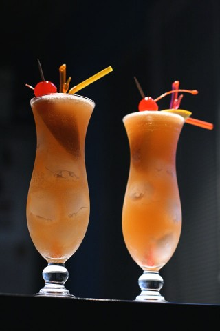 Two Zombie Cocktails (  )