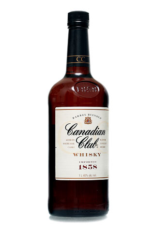 Бутылка Канадиан Клаб