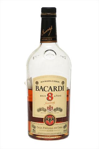 Бутылка Бакарди 8