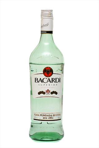 Бутылка Бакарди Картабланка