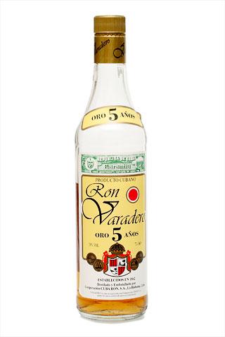 Бутылка Варадеро Оро 5 лет