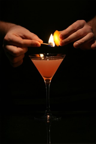 The Flamed Cosmopolitan. Step 2.