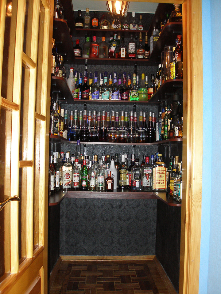 My Liquor Cabinet – Science Of Drink