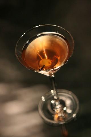 The Dry Rob Roy Cocktail (Коктейль Сухой Роб Рой)