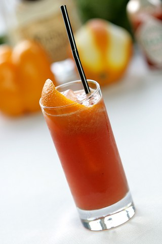 The Bloody Bull Cocktail (  )