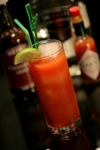 The Bloody Mary Cocktail (  )