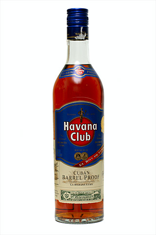 Бутылка Гавана Клаб Баррель Пруф