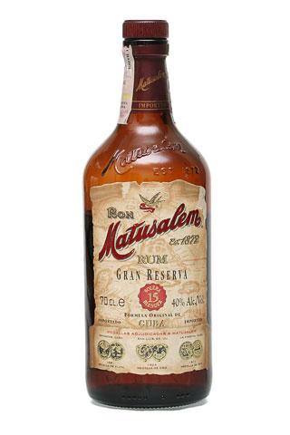 Бутылка Матусалем Солера 15 лет
