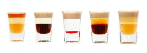 The five layered shoters (Пять слоистых коктейлей)