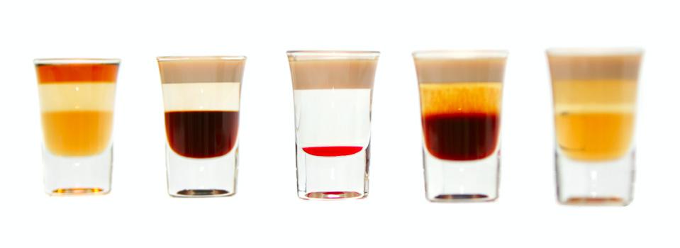 The five layered shoters (Пять слоистых коктейлей ...