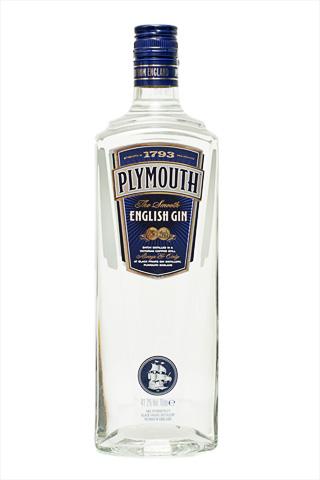 Бутылка джина Плимут