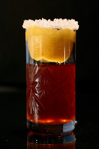 The Brandy Crusta Cocktail (  )