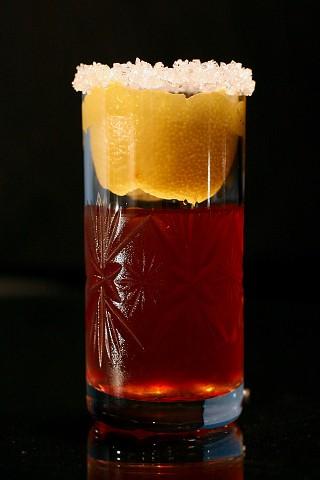 The Brandy Crusta Cocktail (Коктейль Бренди Краста)