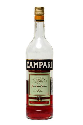 Бутылка Кампари