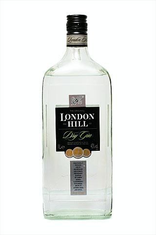 Бутылка джина Ландан Хил