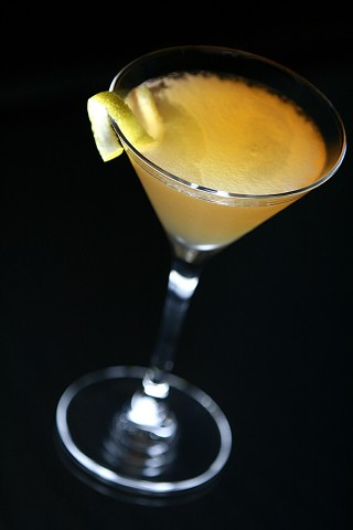 The Mandarine Sidecar Cocktail (Коктейль Мандариновый Сайдкар)
