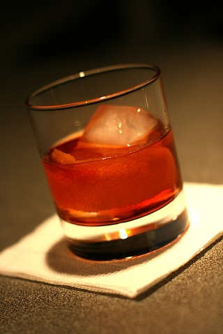 The Mandarine Old-Fashioned Cocktail (  -)