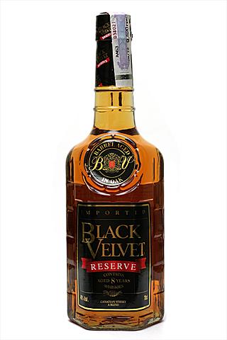 Бутылка Блек Вельвет Резерв