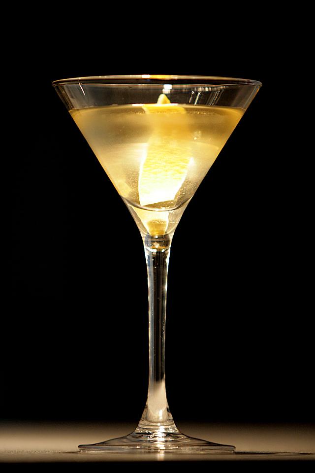 My first the Smoky Martini (Мой первый Дымный Мартини)