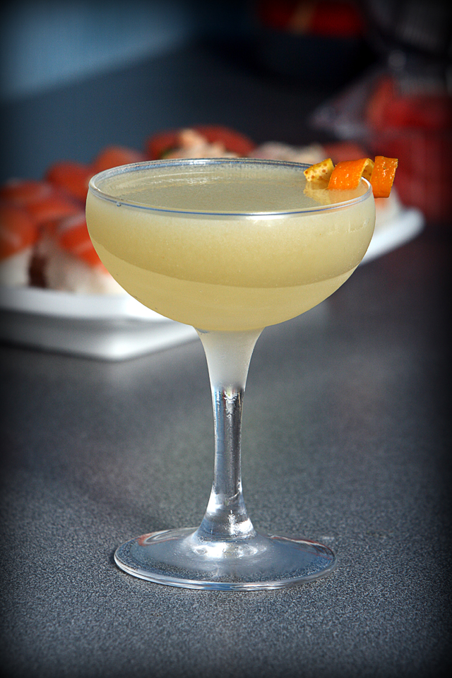 The Breakfast Martini Cocktail with a beautiful twist