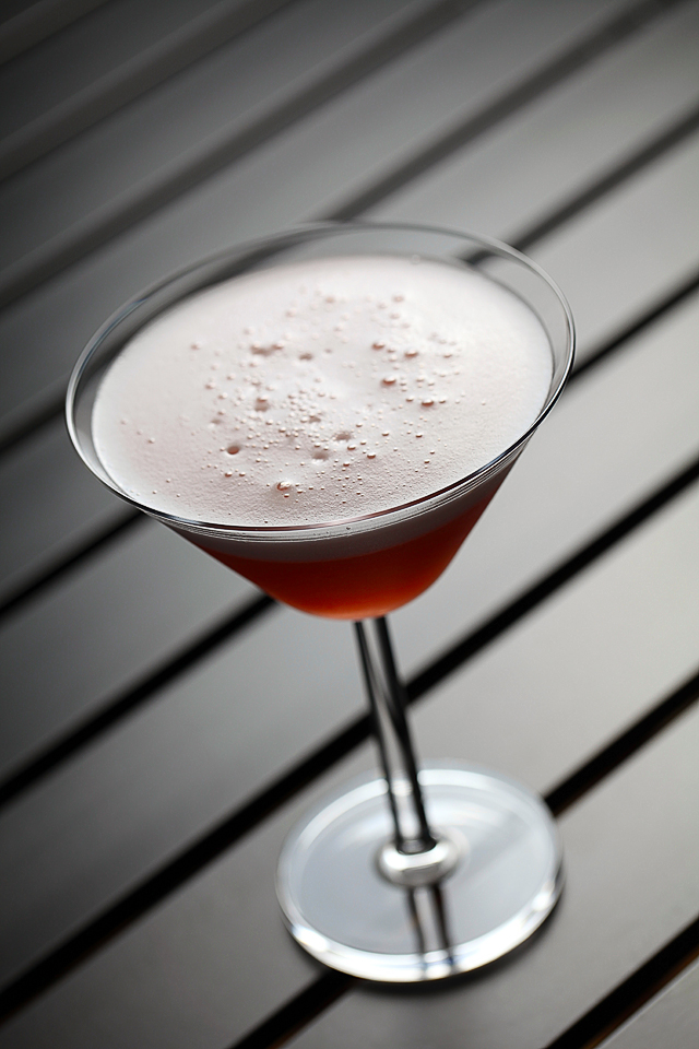 The Foamy Petruchio Coctail modern style | ScienceOfDrink.com
