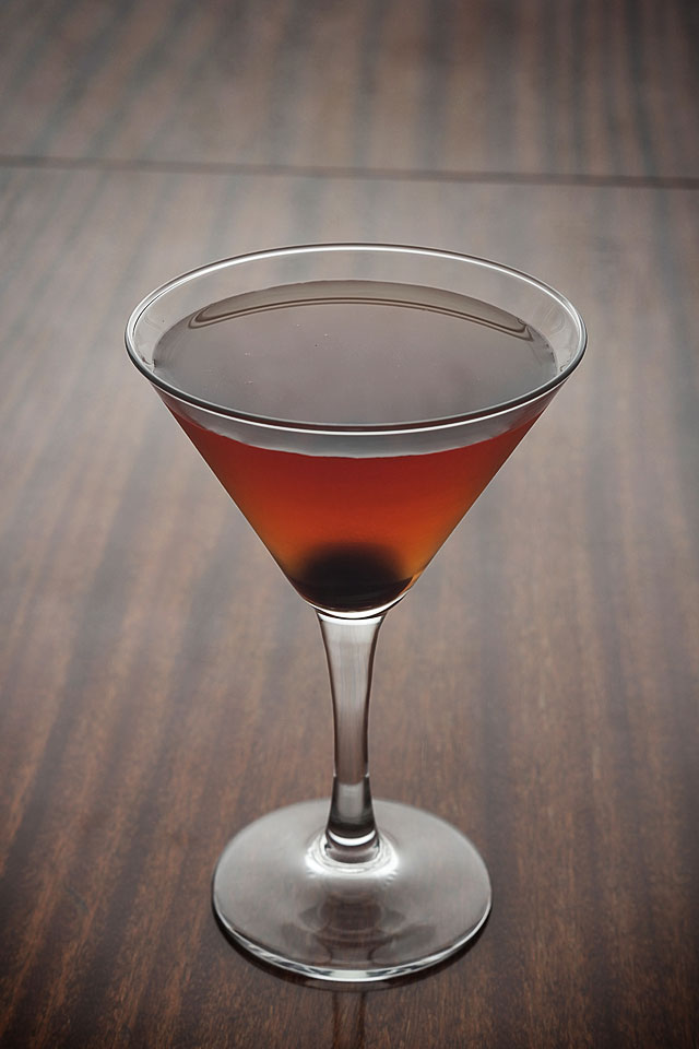 The Martinez Cocktail Manhattan Style | ScienceOfDrink.com
