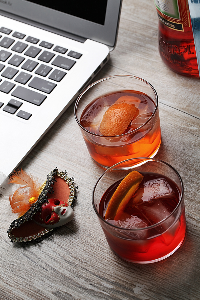 Negroni and Contessa | ScienceOfDrink.com