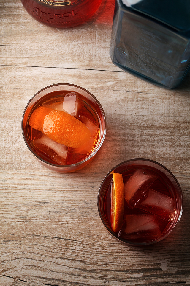 Contessa and Negroni Cocktail | ScienceOfdrink.com