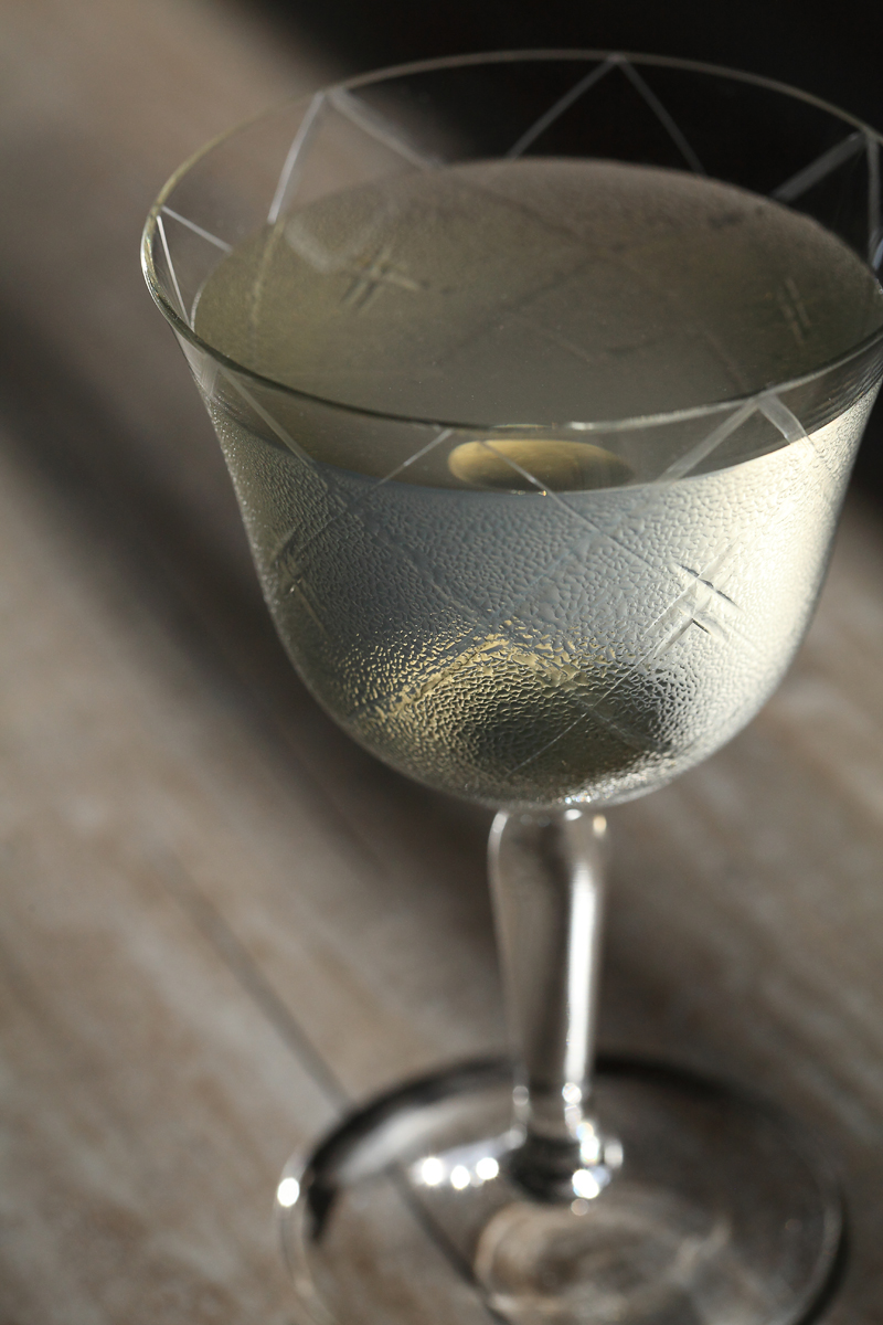 The beautiful Martini dew | ScienceOfDrink.com