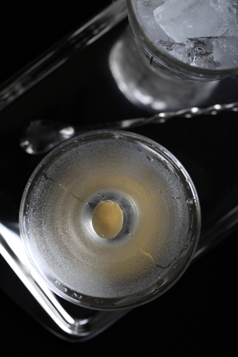Gorgeous Gin Martini | ScienceOfDrink.com