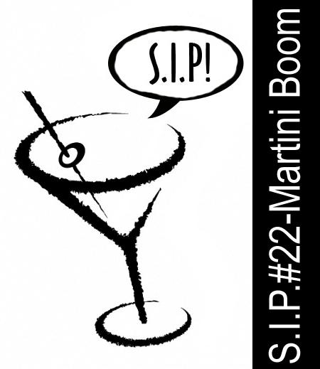 S.I.P.#22 - Martini Boom! Logo