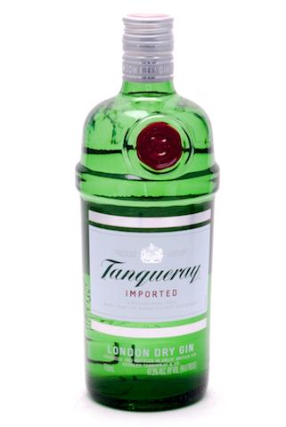 Бутылка джина Танкерей