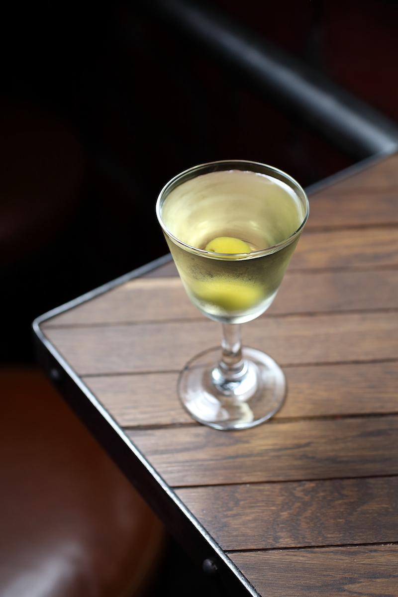 A Yellow, A Mellow Martini | ScienceOfDrink.com
