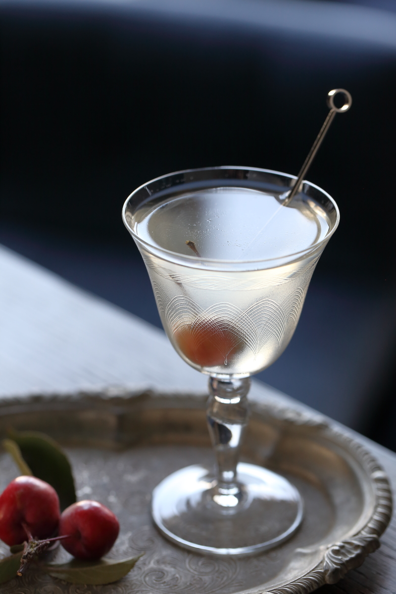 Granny Smith Martini | ScienceOfDrink.com
