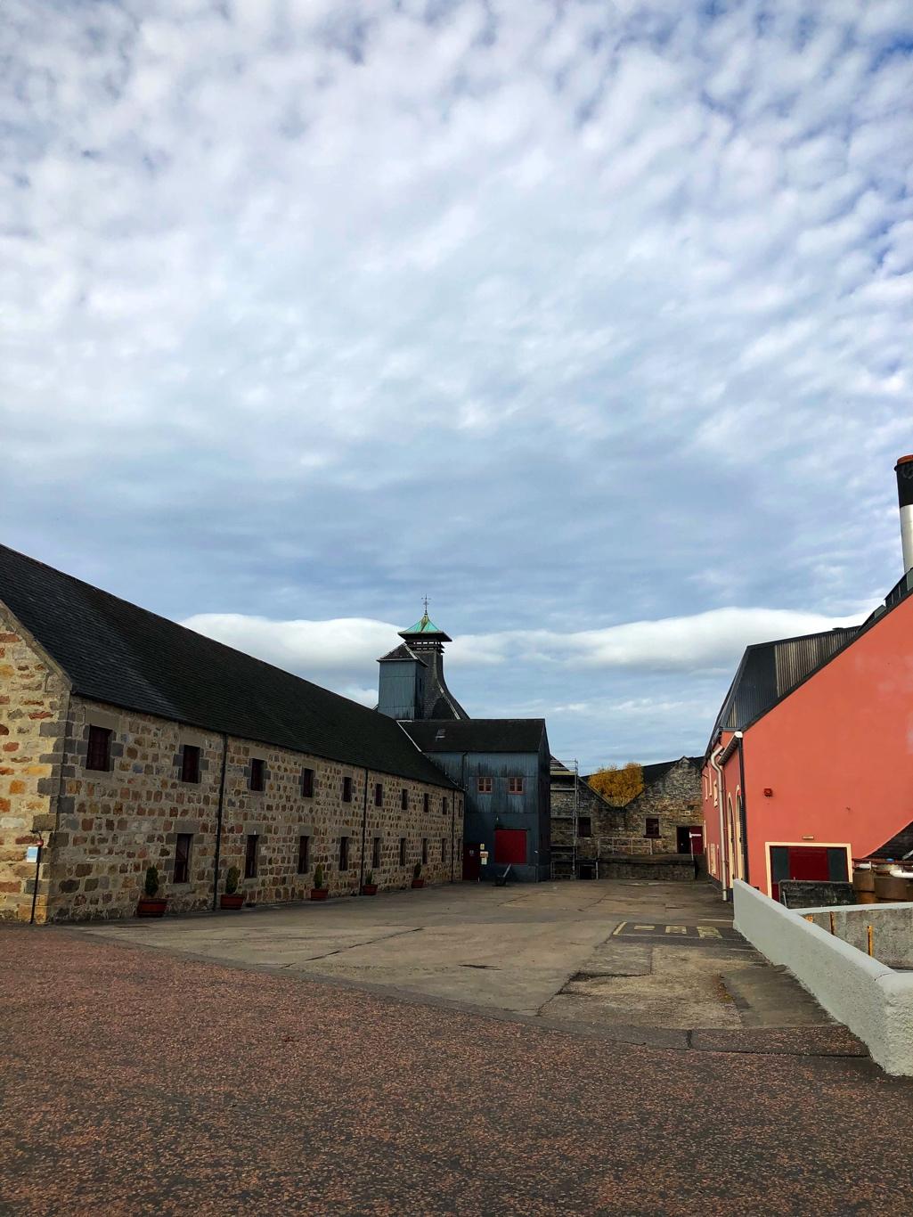 Balvenie Distillery Yard