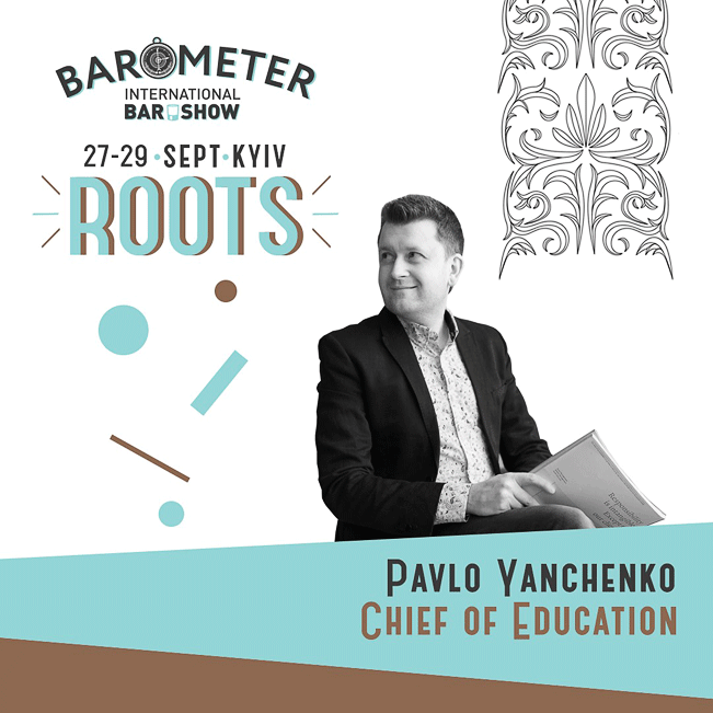 Pavlo - Chief Consultant of Education of the Barometer IBS 2019