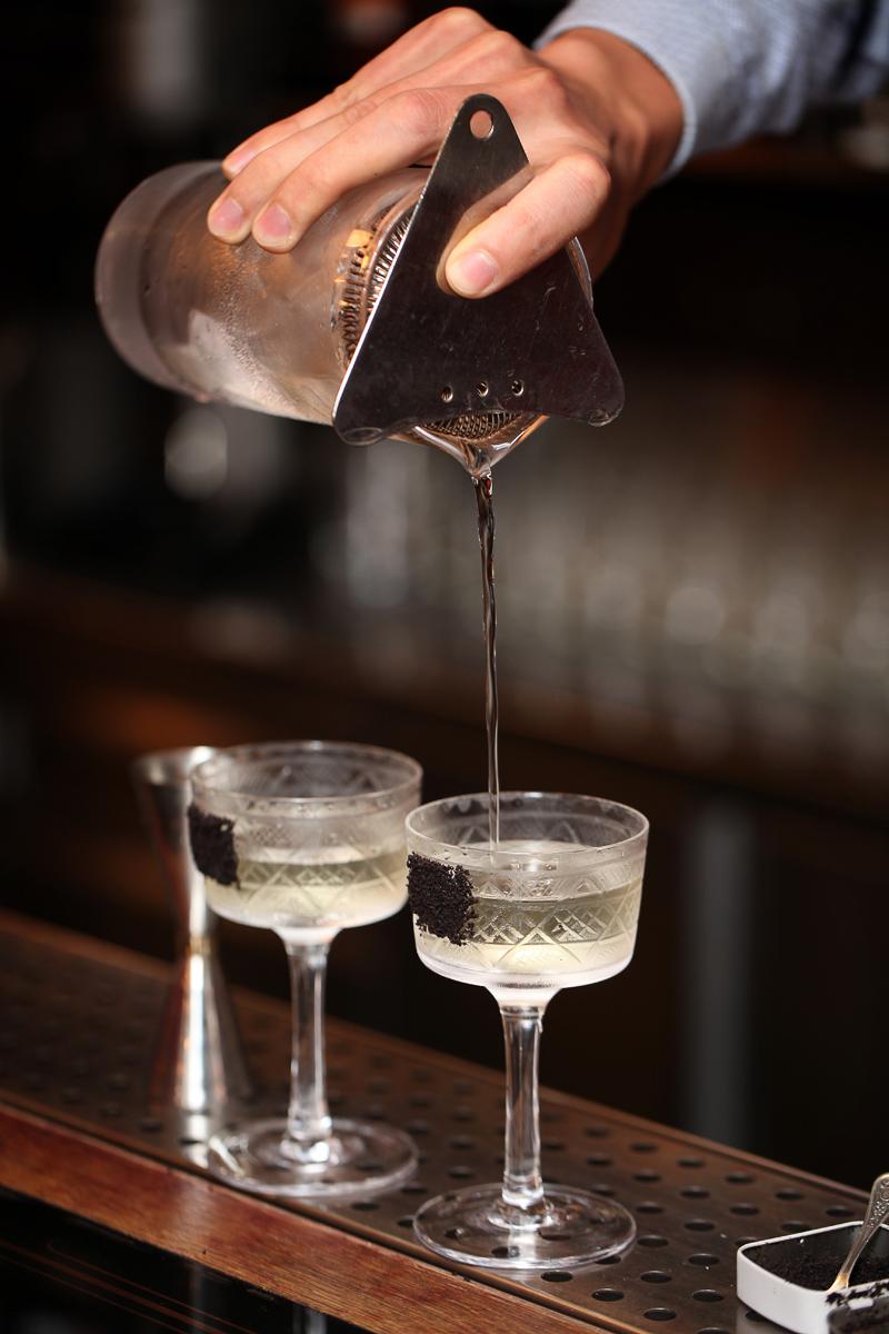 Two Malevich Martini