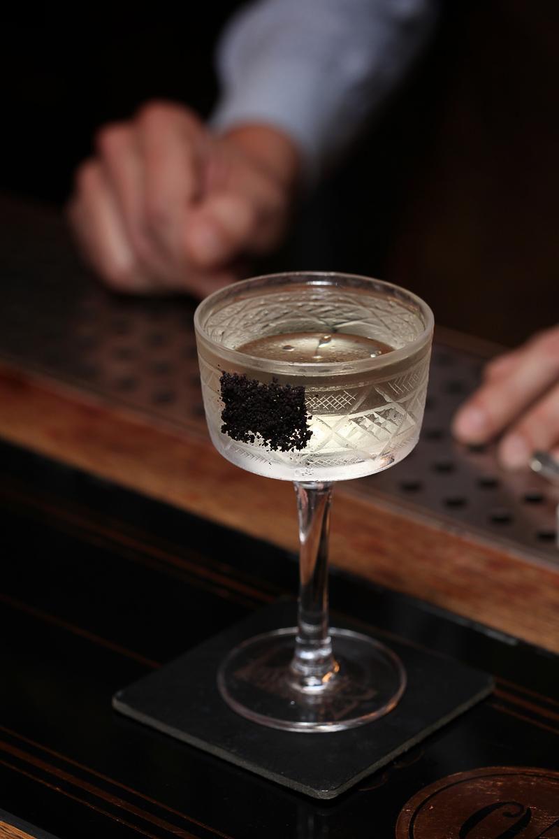 A Malevich Martini by Yurii Zozulia